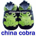 free shipping 100% soft sole genuine leather baby shoes size 0-6 years old ChinaCobra baby shoes