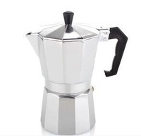 Free Shipping 150 ml 3 cups Alumnium Moka pot/ mocha pot
