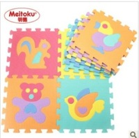 Middlebury mats slip-resistant middlebury eva foam puzzle creepiness mats animal fruit digital 9PCS/SET