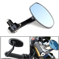 Refires motorcycle mirror refires 22mm rearrests oval alloy handlebar modified rear view mirror