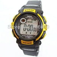 Free shipping New 2013 Children Digital Watches Brand XINTAI Men Sports Silicone Watch Casual Waterproof Dress Watches For Gifts