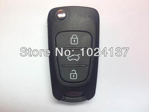 3 button flip remote key shell for Hyundai(China (Mainland))