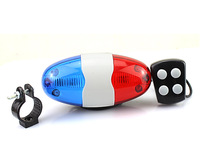 Bicycle Bike 4 Tones Trumpet Electronic Siren Beeper Horn Bell Policy Car Style