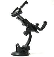 Rotating mini tablet car mount magic teleran rack console