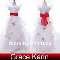 2014 Hot Selling Little Girls Pageant Dresses flower girl dresses Ball Gowns CL4488