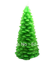 3D Flexible Food Grade Silicon Christmas tree, pine tree mold for DIY soap, chocolate, candle