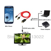 1080P MHL Micro USB to HDMI TV AV Cable Adapter HDTV for Samsung Galaxy S4 S3 Note 2 i9300 i9500
