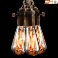 Vintage lamp american vintage light bulb vintage copper lamp