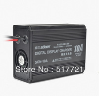 Freeshipping! 6V/12V 10A battery charger deep cycle battery charge controller portable special for 10-80AH battery /Wholesale