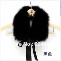 Streamers high imitation fox fur collar coat fur collar big collar Retail Free Shipping