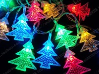 Free Shipping led christmas lights outdoor Holiday String Lights 4.6M 220V christmas garland with lights