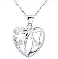 Korean Fashion jewelry,925 Sterling Silver necklace Pendants,wholesale,SP0016