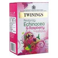 Tea twinings fruit flavor tea bag purple daisy raspberry