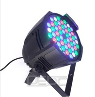LED PAR LIGHTS 54x3w PAR 64 162watt RGB DMX DJ STAGE PARTY SHOW