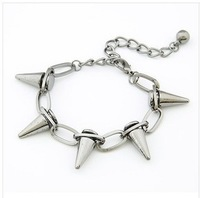 SL009 European and American trade fashion minimalist punk style bracelet Lok Yuk cone manufacturers Promotions
