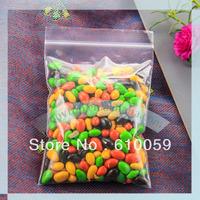 Free shipping (320x450mm) plastic bag for clothes retail zipper bag ziplock bag