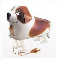 NEW ARRIVAL Free shipping wholessale 20pcs/lot my own pet balloon St Bernard walking balloon_In Stock