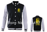 Free shipping Last Kings coat men winter hip hop outdoor winter jacket baseball jacket 7 styles