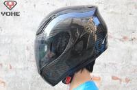 New Super Light 100% Carbon Fiber Motorcycle Helmet  DOT helmet ECE SNELL Free Shipping YOHE-991a
