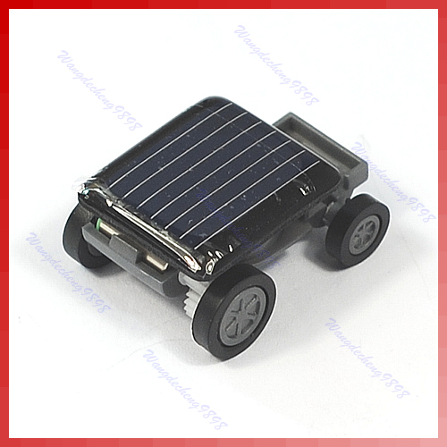 The World's Smallest Mini Solar Power Toy Car Racer New Free Shipping(China (Mainland))