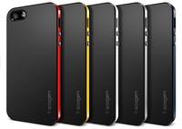 DHL free shipping SGP Spigen Neo Hybrid case for iPhone 5 5G 5S,PC+TPU 2 in 1 hybrid case for iphone 5 5s 50 pcs/lot