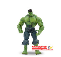 "Free Shipping Marvel Select UNLEASHED HULK 26cm/10"" Incredible Action Figure Toy HRFG074"