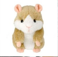 Hot Cute Speak Talking Sound Record,Hamster Talking Plush Toy Animal_In Stock