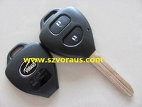 High quality To 2 button remote key shell ,  car remote key shell & auto key blanks