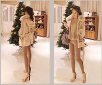 2013 Hot Korea Style Jacket Women Winter Thick Fur Collar Wool Coat