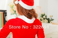 Free Shipping Sexy  christmas installation costume ds lead dancer clothing Christmas Lady Clothing