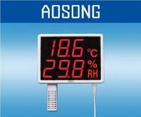 Freeshipping Temperature and humidity display recorder USB industrial temperature and humidity meter