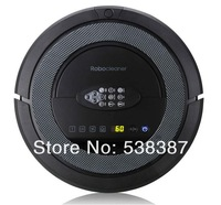(Free to Canada)Robotic vacuum cleaner QQ5,Auto-sterilize,new design,long working time,never touch charge base and vitual wall
