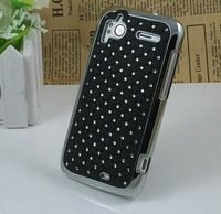 10colors For HTC Sensation XE Z710E G14 Z715E G18 Case Cover for G14 G18 Luxury Diamante Diamond Bling Chrome