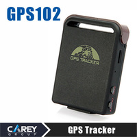 Portable Car GPS Tracker 102 with GSM Alarm Micro SD Card Slot Anti-theft GPS102