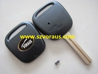 High quality To 1 button remote key shell with TOY48 blade and logo