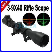 3~9X40 Green&Red Illuminated Hunting Riflescope EMS F-11