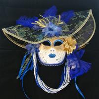 Free ship!1pcs Halloween Masquerade party Mask / Crown Venetian Christmas Full Face Mask Hat