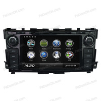double din touch screen car dvd player special for Nissan Teana
