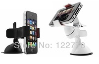 Convenient Windshield Car Holder Plastic Car Bracket Mount for Mobile Phone iPhone 4 4S 5 5S 5C