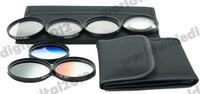 67 MM Macro Close Up Filter Lens Kit +1 +2 +4 +10 for all 67MM Camera Lenses + Graduated Neutral Density Grey ND Filter Set