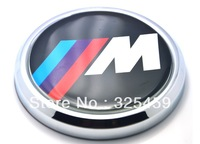 M-Power  metal grill badge, aluminum alloy  grill badge emblem, 86*86 mm The British flag with mini