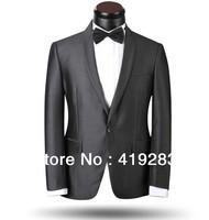 New Arrvial Big Stock Groom Wedding Dress Suit Men's Tail Suit Woolen High Quality Two-piece