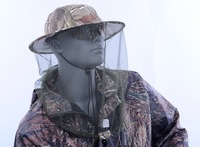 Anti-Mosquito Bee Insect Fishing Mask Face Protect Hat Net Camouflage Free Ship