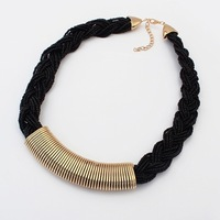 Min.order $10(mix) vintage bead choker necklace for women fashion jewerly wholesale handmade statement necklace 2014