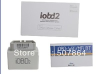 Free shipping iOBD2 Bluetooth OBD2 EOBD Auto Scanner Trouble Code Reader for iPhone/Android