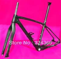 "FR-503 Full carbon UD Matt Matte MTB 650B 27.5ER mountain bike 27.5"" Wheel frame ( BB30)  +  fork  + Seatpost + Clamp + Cage"