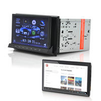 "2DIN Car DVD Player ""CVITT"" - Detachable 7 Inch Android Tablet, GPS, DVB-T, WiFi"