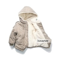 Children's clothing 2013 male child clip cotton-padded coat cotton-padded jacket cotton-padded jacket child plus velvet wadded