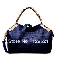 Bags women leather handbag fashion Crocodile shoulder bag short women messenger bag high quality tote designer bolsas femininas