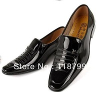 FREE SHIPPING!  Britpop set foot men's business casual work shoes youth shoes casual shoes shoes men's boutique SIZE US 6.5-9.5
